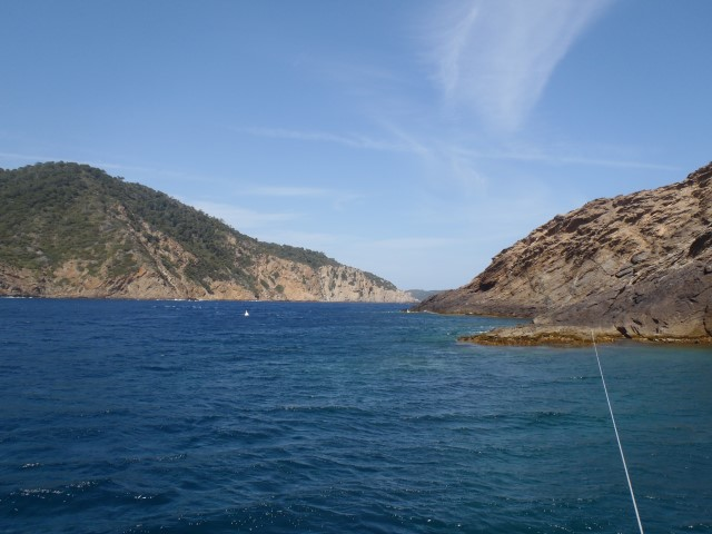 La gabiniere (ouest) au dessus de l'eau