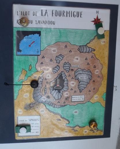 Plan d'un site de plongée