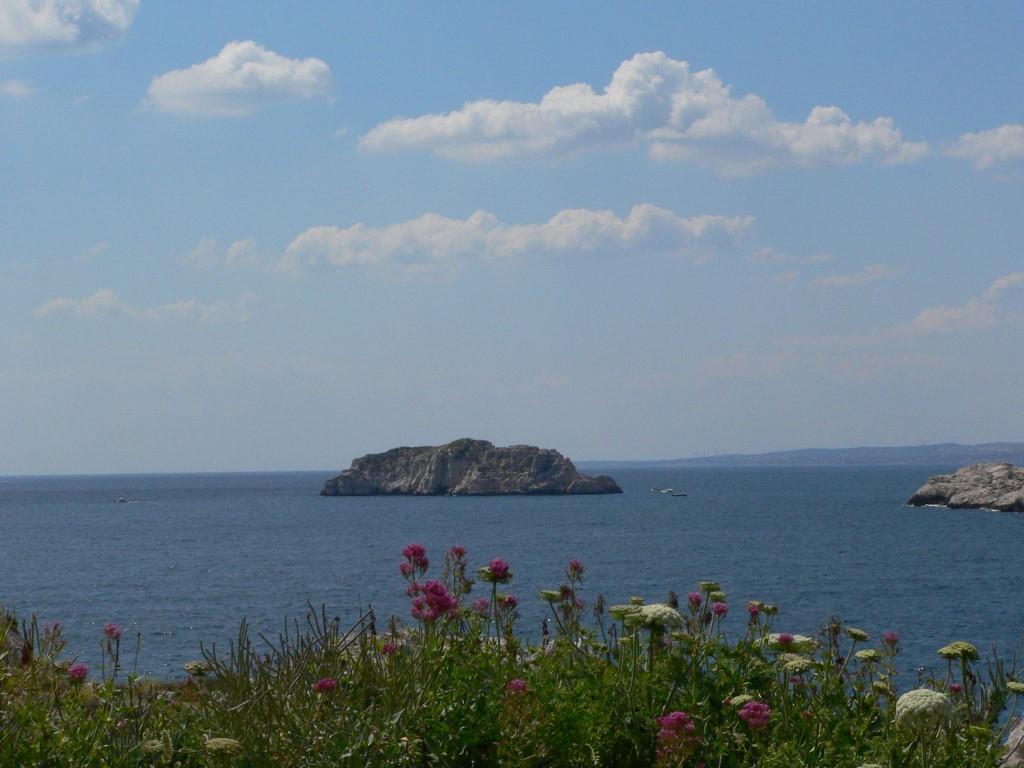 Vue marine depuis le Frioul